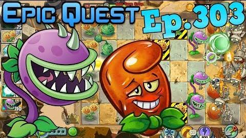Plants vs. Zombies 2 Leveled up Plants! Ancient Egypt - Epic Quest (Ep