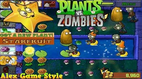Plants vs. Zombies Adventure Got a Starfruit level 4-6 Fog (Android Gameplay HD) Ep
