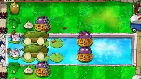 Plants vs Zombies - Survival Pool Hard - No Sunflower