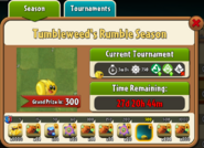 Tumbleweed's Rumble Season Prize Map