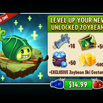 Level Up Unlocked Zoybean Pod with Zoybean Costume Ad.png