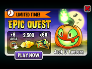 Epic Quest - Jack-O-Lantern
