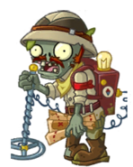 Lost Guide Zombie Almanac Texture