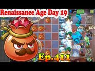 Plants vs. Zombies 2 (China) - Ruby Red - Renaissance Age Day 19 (Ep