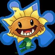 Primal Sunflower Rare Puzzle Piece