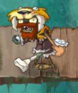 Hunter Zombie in Pirate Seas