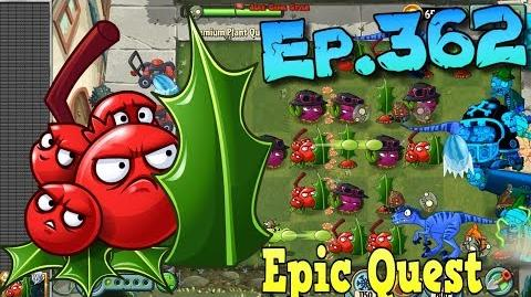 Plants vs. Zombies 2 - HOLLY BARRIER - Epic Quest Premium Seeds (Ep