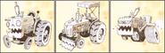 Farm zombies zombie tractor - ArtofReanimPvZ2