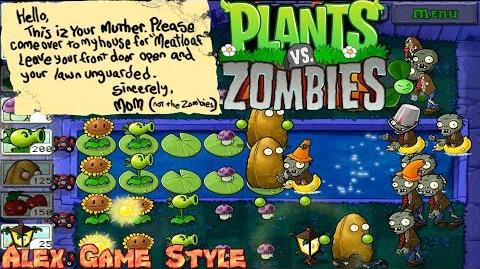 Plants vs. Zombies Adventure Found a Note level 4-9 Fog (Android Gameplay HD) Ep