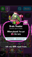 Brain Vendor Description