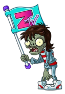 Old Unused Neon Flag Zombie
