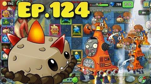 Plants vs. Zombies 2 (Chinese version) - Unlocked Primal Potato Mine - Far Future Day 10 (Ep