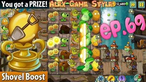 Plants vs. Zombies 2 Prize - Shovel Boost Pirate Seas Day 12 (Ep
