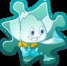 Ice Lotus Costume Puzzle Piece