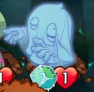 Frozen Haunting Ghost
