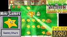Plants vs. Zombies - Seeing Stars Mini-Games - Classic PC HD (Ep