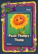 Pvzgw2 pause thumpy thump sticker