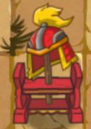 Samurai Helmet Stand