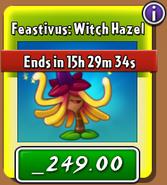 Witch Hazel Store Feastivus