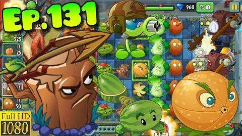 Plants vs. Zombies 2 (China) - Unlocked Oak Archer and Coffee Bean - Far Future Day 16 (Ep