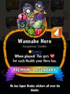 Wannabe Hero description