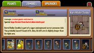 Barrel Roller Zombie Almanac Entry Part 2
