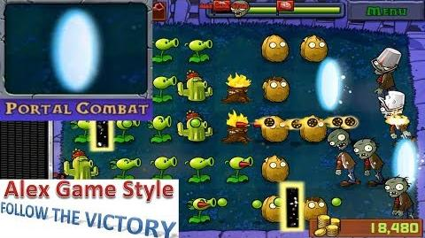 Plants vs. Zombies - Mini Games - Portal Combat (Android Gameplay HD) Ep