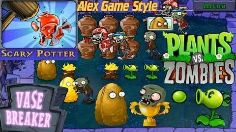 Plants vs. Zombies - Puzzle Vasebreaker Scary Potter (Android Gameplay HD) Ep