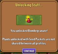 Bombegranate Unlocked