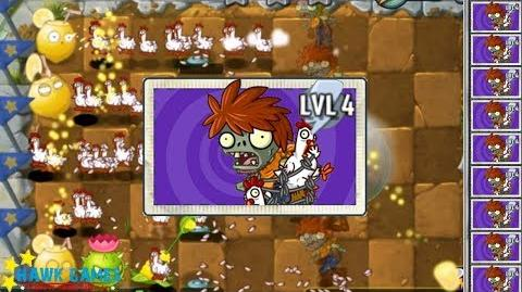 I, Zombie Plants vs Zombies 🌻 - Chicken Wrangler Zombie 👾 Zombie vs Plants 11