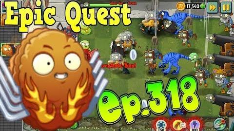 Plants vs. Zombies 2 EXPLODE-O-NUT - Explosive Plants - Epic Quest Premium Seeds (Ep