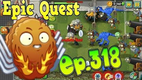 Plants vs. Zombies 2 EXPLODE-O-NUT - Explosive Plants - Epic Quest Premium Seeds (Ep