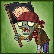 PvZ2 Flag Pirate Zombie