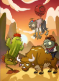 PvZ Cardz Unused Wild West Promo