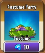Costume Party Dartichoke