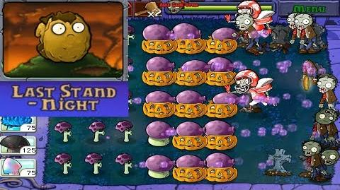 Plants vs. Zombies - Puzzle Last Stand - Night (Last Stend Pack - Unlocked for 100,000 coins) Ep