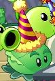 Cabbage-pult in Birthdayz trailer.
