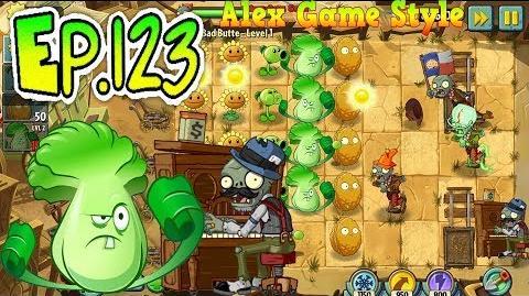 Plants vs. Zombies 2 Big Bad Butte level 1 (Ep