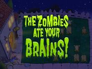 Zombie ate IOS message