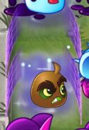 Kiwibeast protected by Moonflower's shield