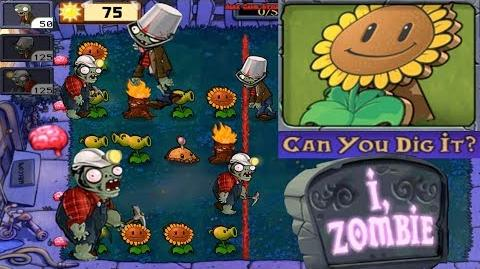 Plants vs. Zombies - Puzzle I, Zombie Can You Dig It? (Android Gameplay HD) Ep