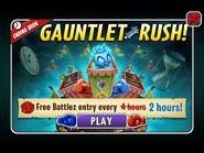 Gauntlet Rush Ad