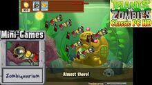 Plants vs. Zombies - Zombiquarium Mini-Games - Classic PC HD (Ep