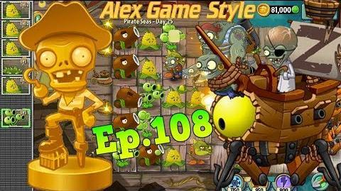 Plants vs. Zombies 2 Defeat ZomBoss - Pirate Seas Day 25 (Ep