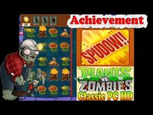 Plants vs. Zombies Achievement SPUDOW Can You Dig It? Puzzle - Classic PC HD (Ep