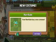 Getting Hurrikale Costume