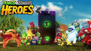 Plants vs. Zombies Heroes trailer background