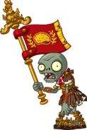 Roman Flag Zombie
