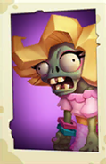 Glitter Zombie's old PvZ3 portrait