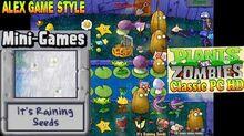 Plants vs. Zombies - It's Raining Seeds Mini-Games - Classic PC HD (Ep
